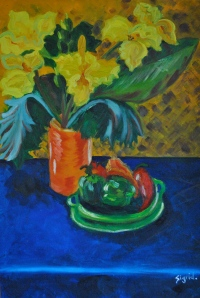 Still Life with Capsicums